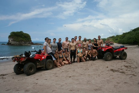 FourTrax Tamarindo ATV Tours.